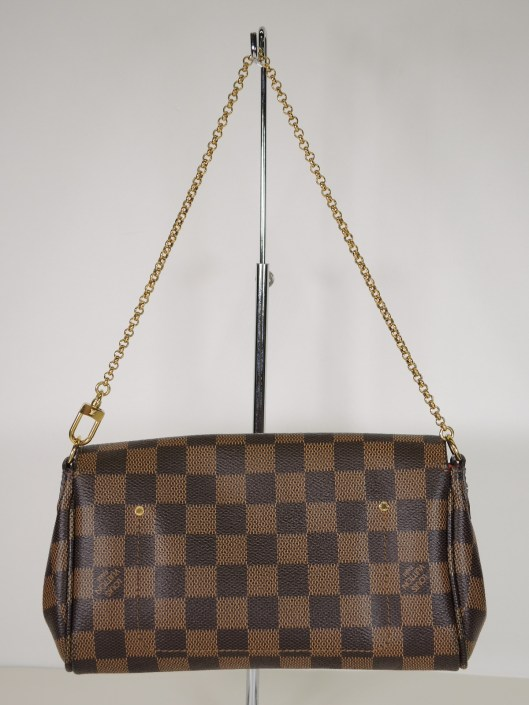 LOUIS VUITTON 2015 Damier Ebene Neverfull MM Tote SOLD