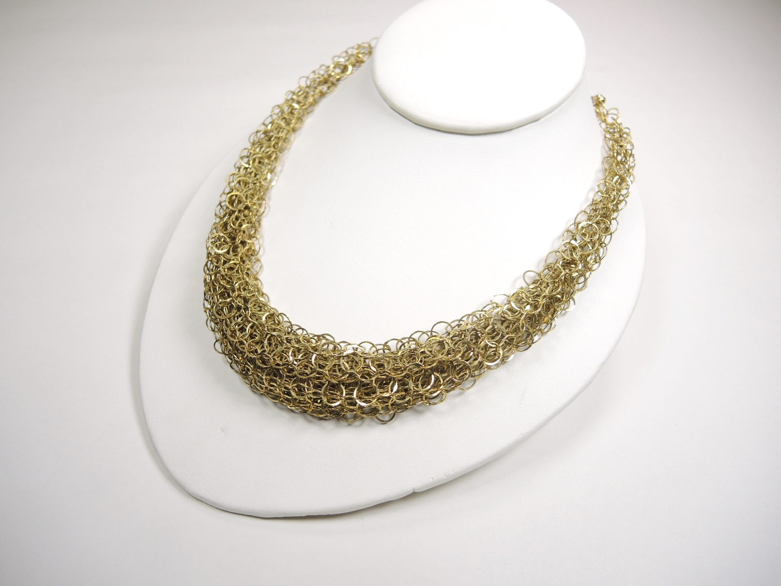 Jewelry & Watches Necklaces & Pendants The Best Exquisite Chunky Creme Pearls Silver Chains Bib Drape Necklace Earrings Set Finely Processed